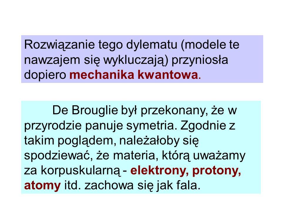 Z = 1 atom wodoru Z = 2 jednokrotnie zjonizowany atom helu Z = 3 dwukrotnie zjonizowany atom litu Energia potencjalna dwóch ładunków punktowych q 1, q 2 odległych o r wyraża się wzorem Dla rozpatrywanego atomu wodoropodobnego energia ta może być zapisana jako (22) (23)