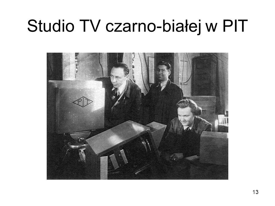 13 Studio TV czarno-białej w PIT