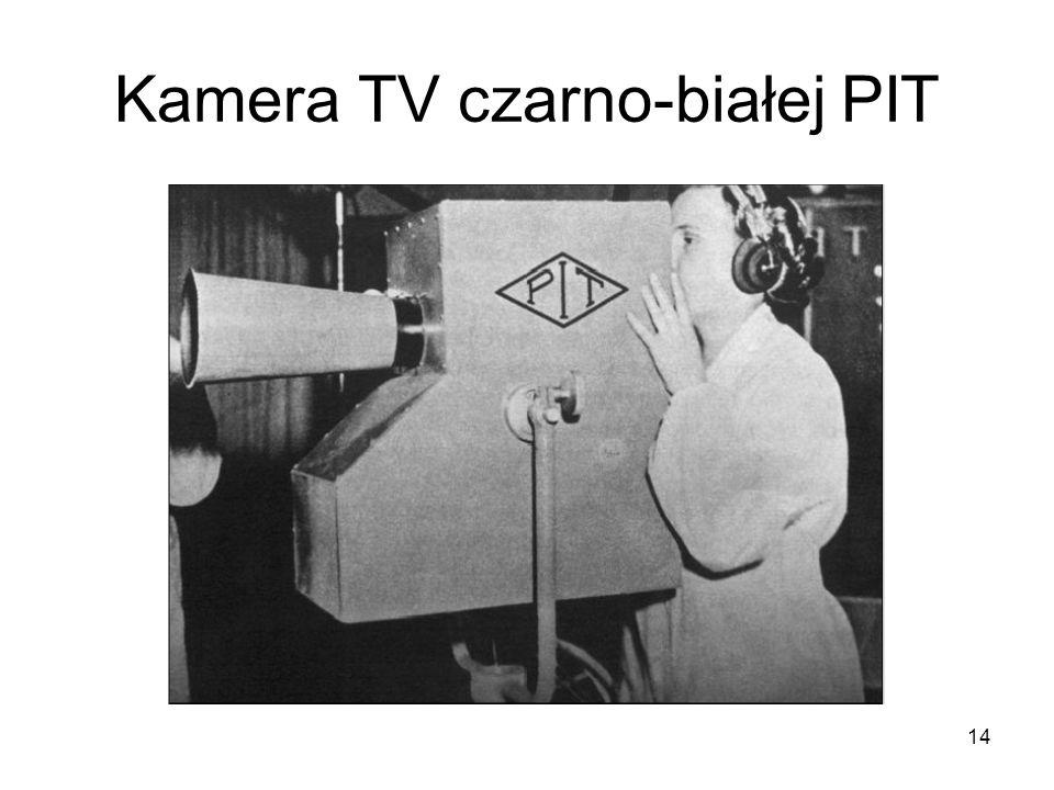 14 Kamera TV czarno-białej PIT
