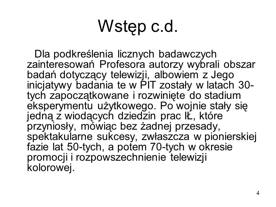 15 Zespół pracowników Zakładu TV IŁ (1952); siedzą: Tadeusz Bzowski prof.