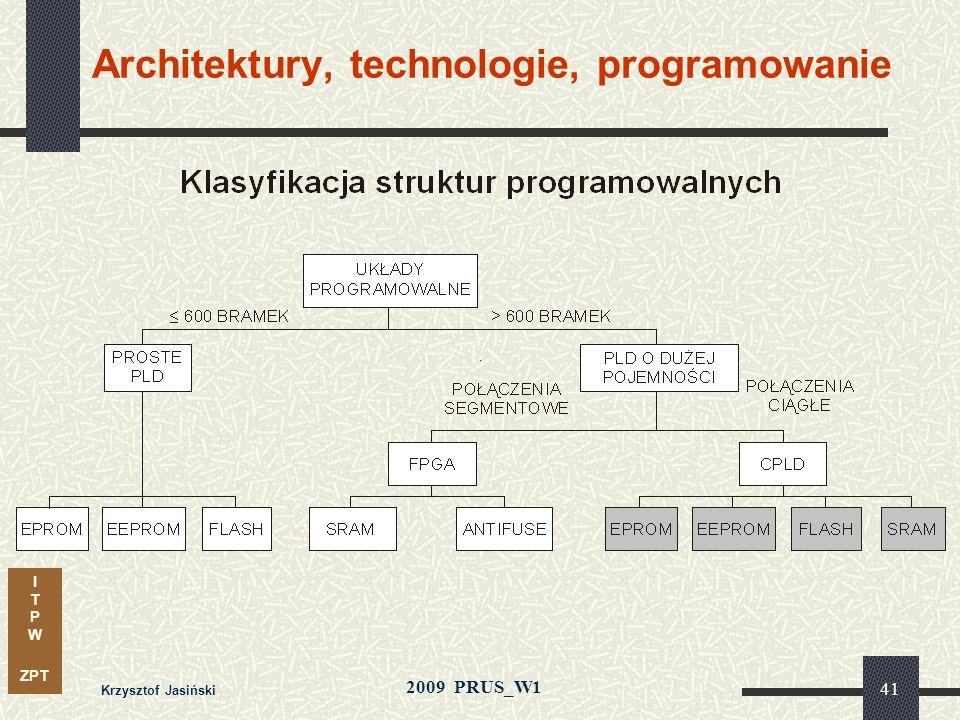 I T P W ZPT 2009 PRUS_W1 Krzysztof Jasiński 40 Połączenia ciągłe i segmentowe