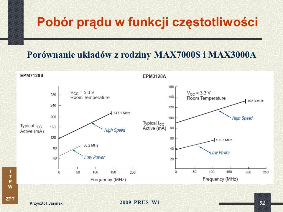 I T P W ZPT 2009 PRUS_W1 Krzysztof Jasiński 51 FLEX10K – Blok pamięci wbudowanej