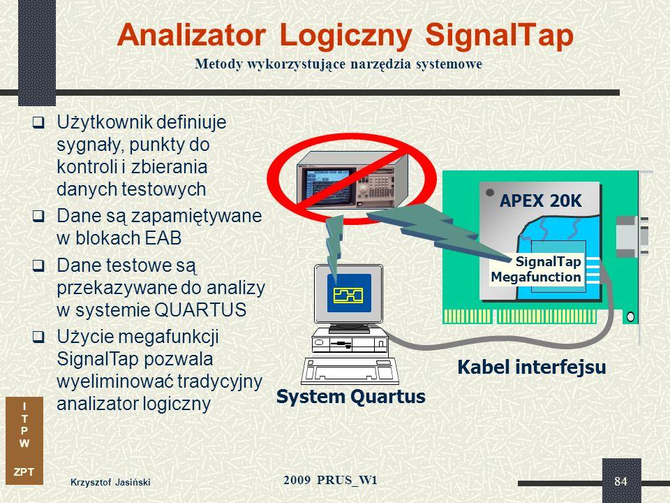 I T P W ZPT 2009 PRUS_W1 Sposoby zwiększania produktywności Metody wykorzystujące narzędzia systemowe: kompilacja inkrementalna weryfikacja sprzętowa,