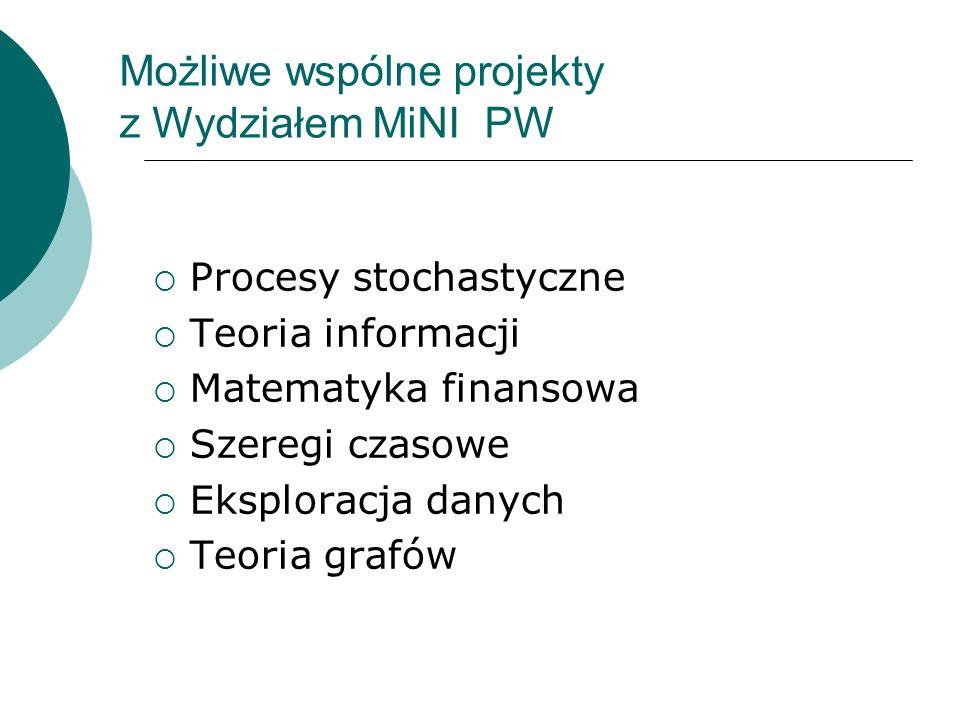 Sekcja Polskiego Towarzystwa Fizycznego: Fizyka w Ekonomii i Naukach Społecznych (FENS) http://ptf.fuw.edu.pl/fens/
