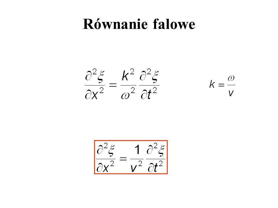 Równanie falowe