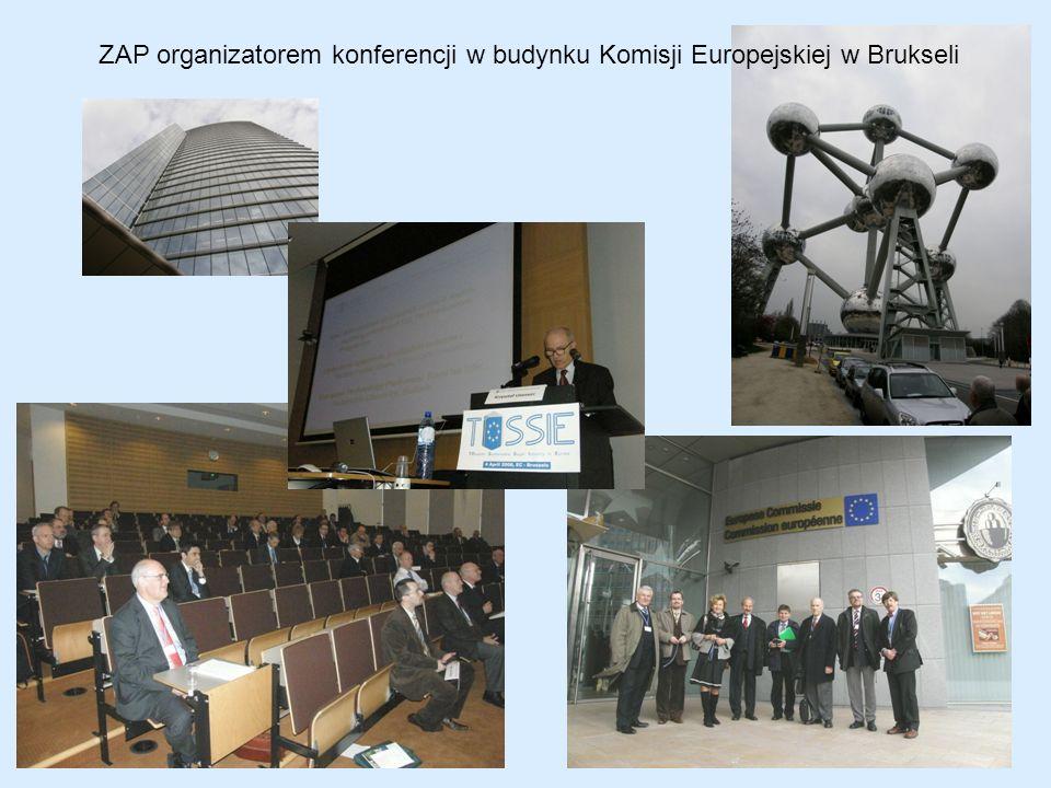 ZAP organizatorem konferencji w budynku Komisji Europejskiej w Brukseli