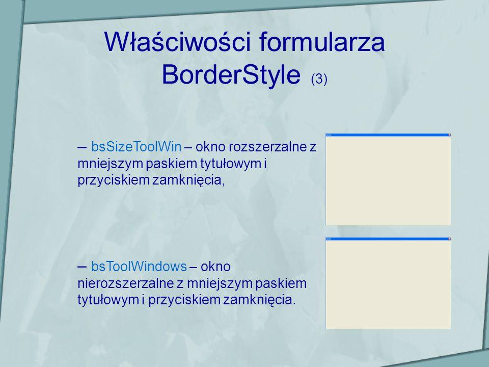Ćwiczenia Ćw.1Proszę zbudować interfejs i napisać kod przykładowego programu (zmieniający kolory formularza) zgodnie z instrukcjami podanym na slajdach 15-17, Ćw.2 Proszę na podstawie informacji zawartych na slajdach 1-12 stworzyć interfejs użytkownika wyglądający tak jak na załączonym rysunku.