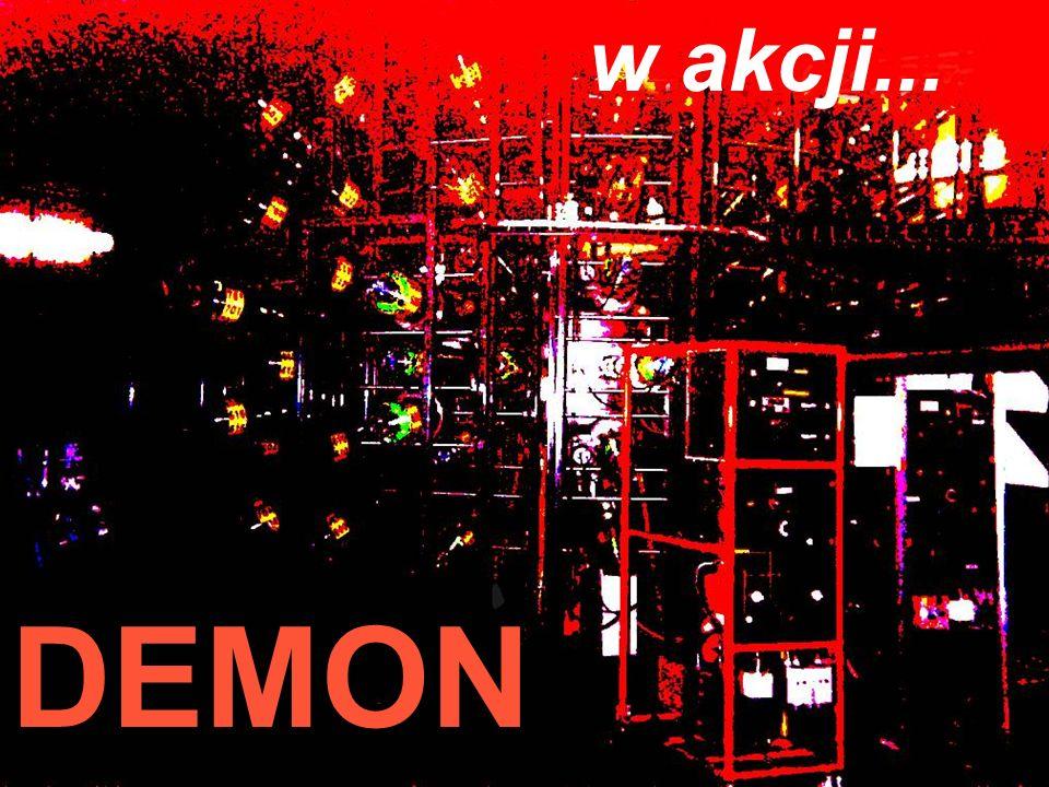Festiwal Nauki 2003 Jan Pluta, Wydział Fizyki PW DEMON w akcji...