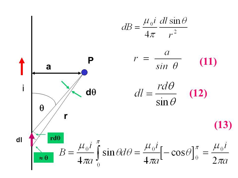 i dl d P rd r a (11) (12) (13)