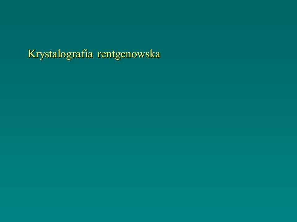 Krystalografia rentgenowska