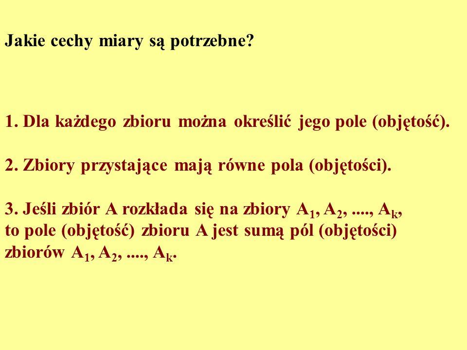 Czy koło i kwadrat o tym samym polu są równoważne przez rozkład skończony? Alfred Tarski, 1925 Miklos Laczkovich 1990: Tak! Wystarczy odpowiednio rozb