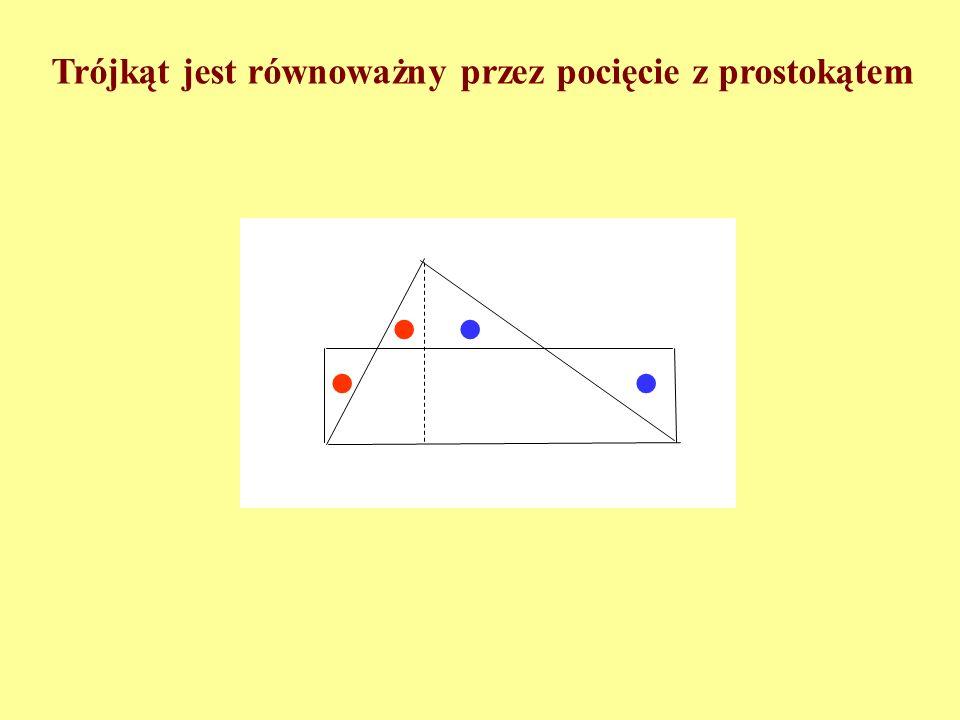 Każdy wielokąt można pociąć na trójkąty