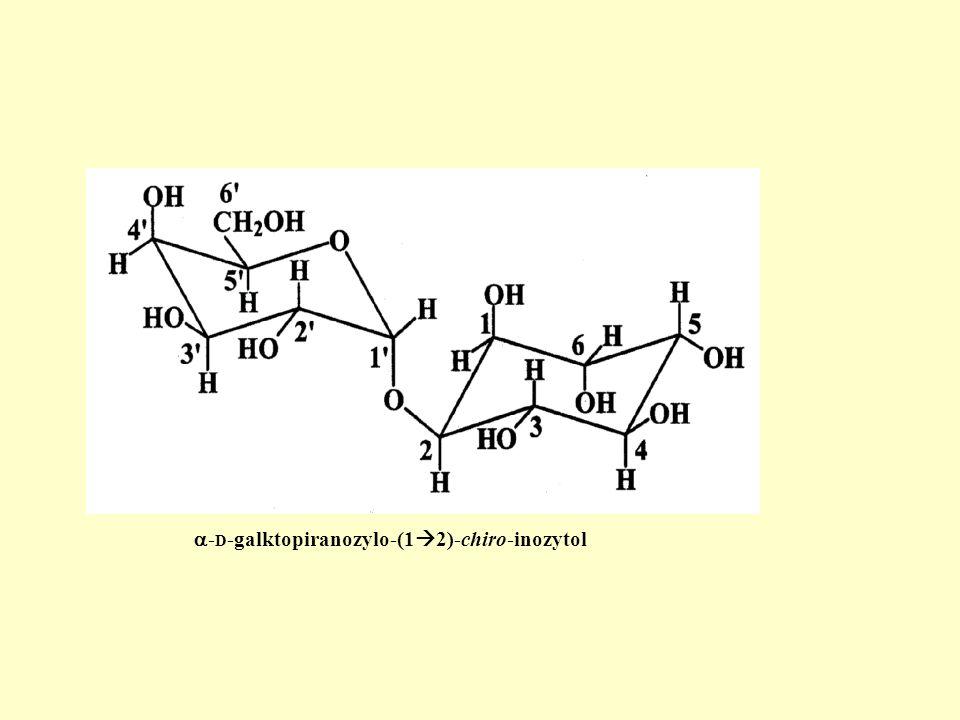 - D -galktopiranozylo-(1 2)-chiro-inozytol