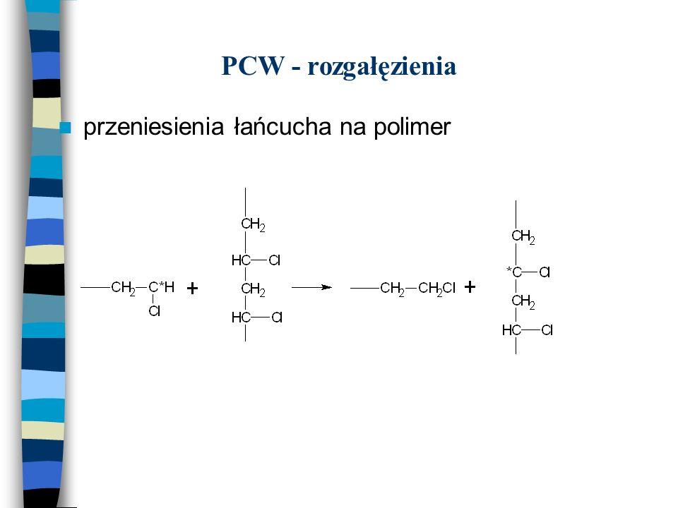 PCW - rozgałęzienia przeniesienia łańcucha na polimer