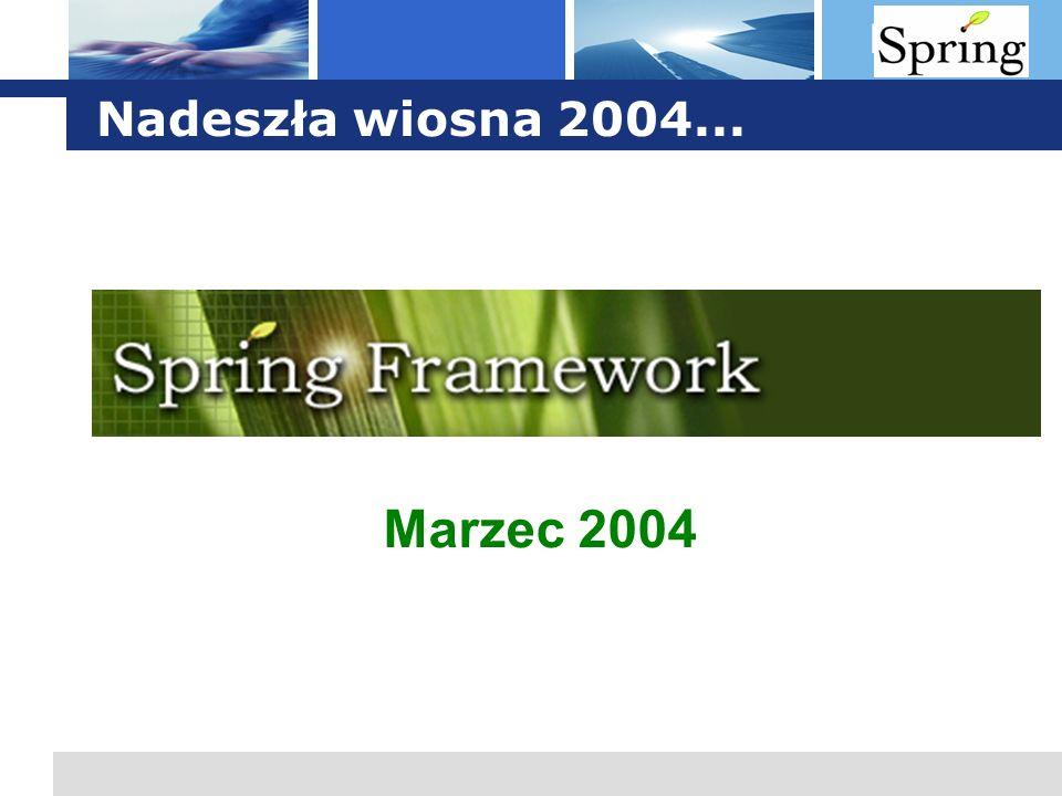 L o g o Nadeszła wiosna 2004... Marzec 2004