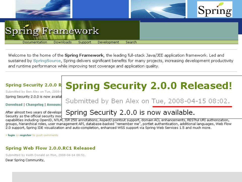 L o g o Spring Security