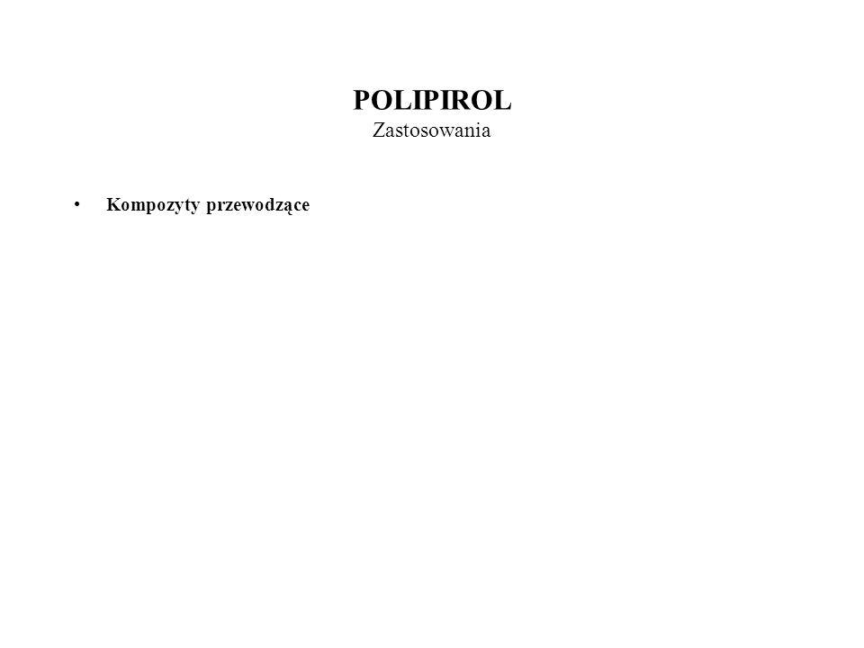 POLIPIROL Zastosowania Kompozyty przewodzące