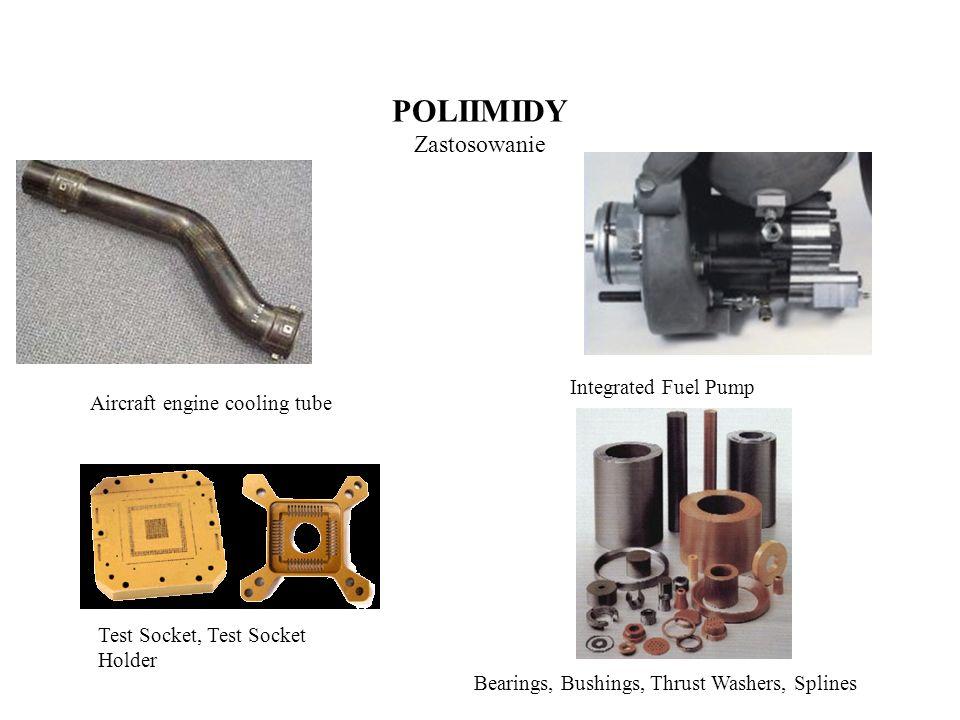 POLISULFIDY (PPS) Otrzymywanie Obecnie otrzymywany jest przemysłowo z p-dichlrobenzenu i siarczku sodu w polarnym organicznym rozpuszczalniku (nzw.