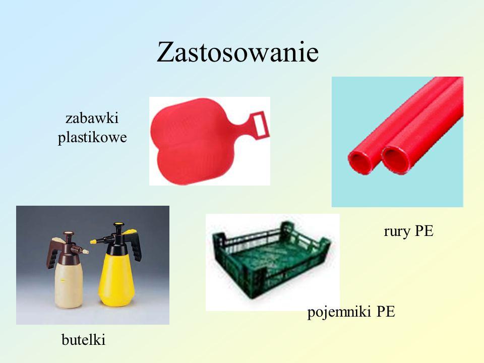 Zastosowanie rury PE pojemniki PE zabawki plastikowe butelki