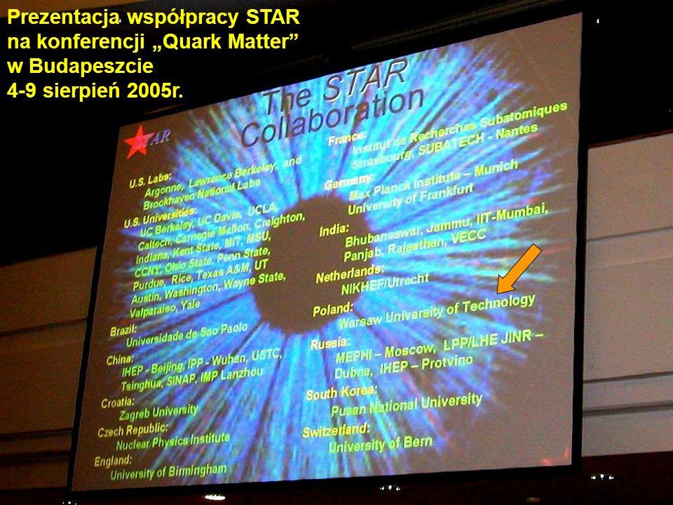 CERN - przed wejściem głównym – flagi państw - członków CERN-u Tak, jesteśmy – jako kraj