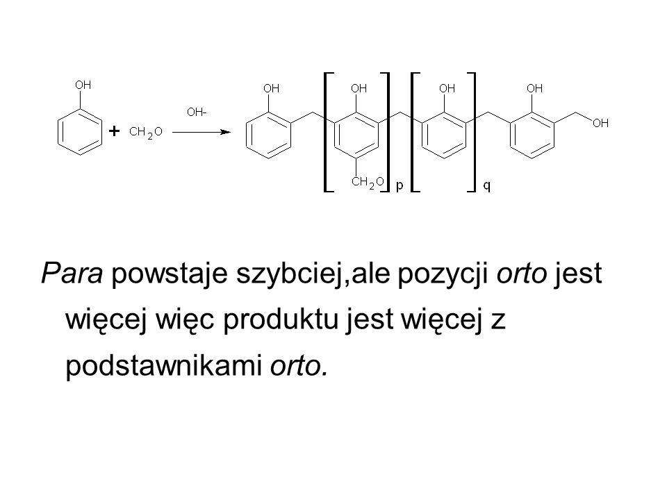Para powstaje szybciej,ale pozycji orto jest więcej więc produktu jest więcej z podstawnikami orto.
