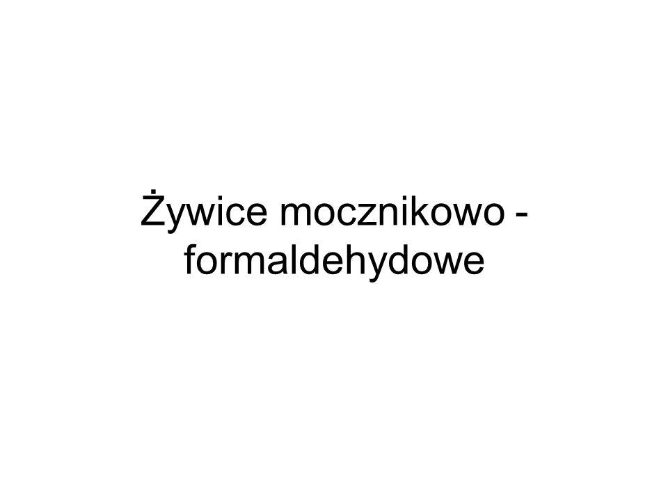 Żywice mocznikowo - formaldehydowe