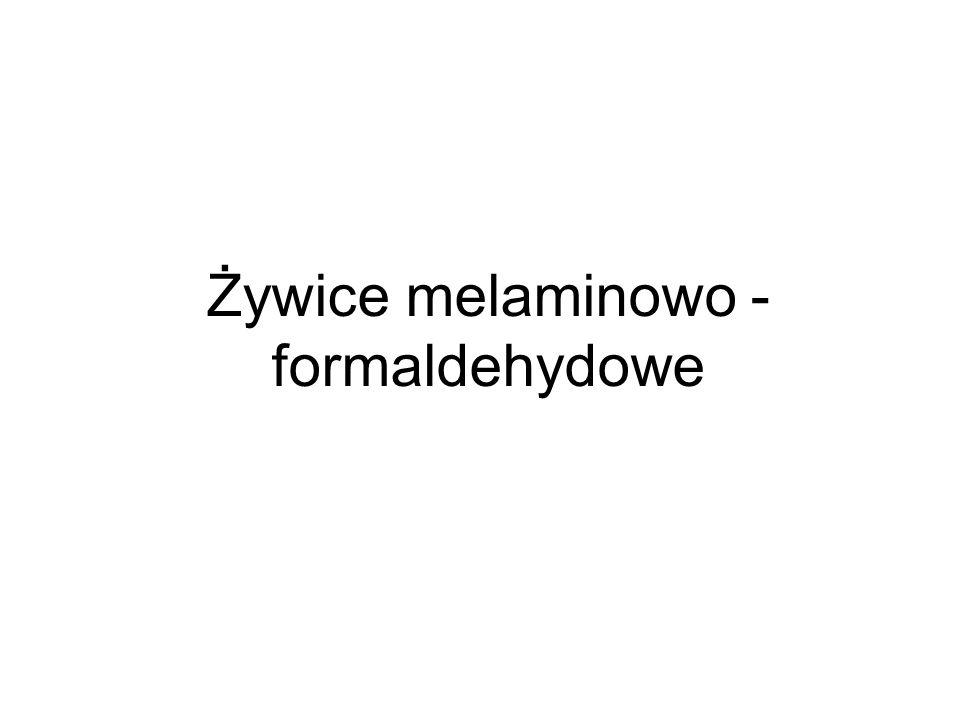 Żywice melaminowo - formaldehydowe