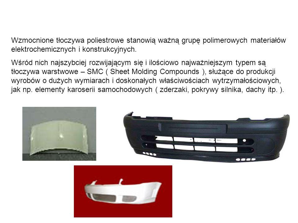 Wzmocnione tłoczywa poliestrowe stanowią ważną grupę polimerowych materiałów elektrochemicznych i konstrukcyjnych. Wśród nich najszybciej rozwijającym