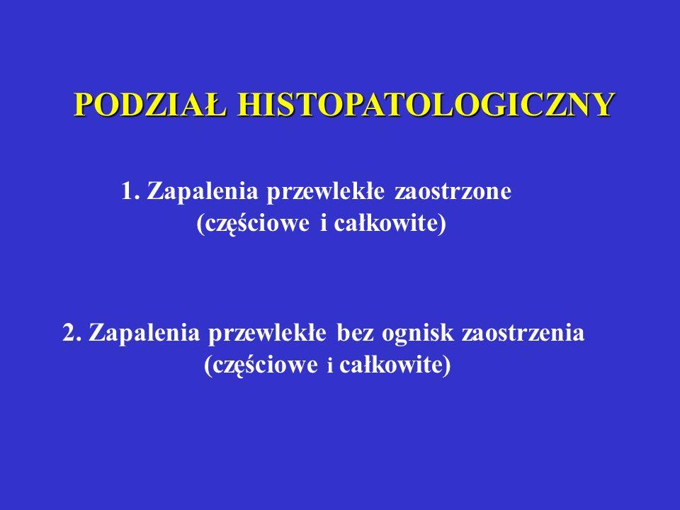 ZMODYFIKOWANA KLASYFIKACJA WG WILGI A. Pulpitis acuta - bóle samoistne od kilku dni, ubytek drążący do miazgi, przy zgłębnikowaniu ból w miejscu obnaż