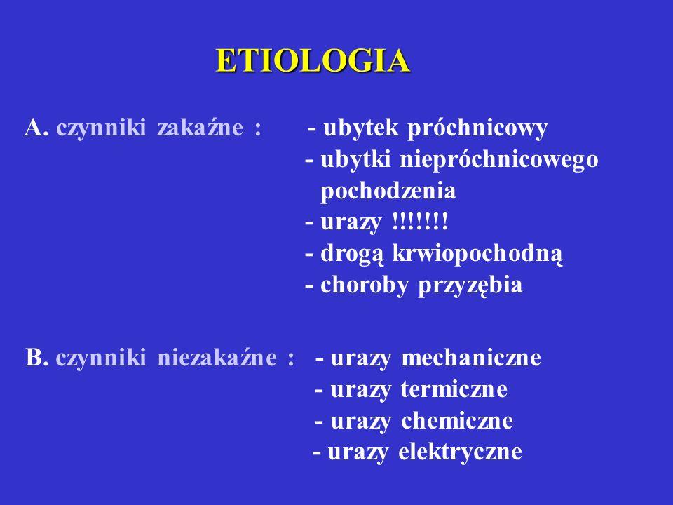 Działanie Ca(OH)2 APEKSOGENEZA: fizjologiczne dotwarzanie korzenia; warunek - żywa miazga APEKSYFIKACJA: zamknięcie szczytu korzenia twardą tkanką pod wpływem działania związków chemicznych (Ca(OH) 2