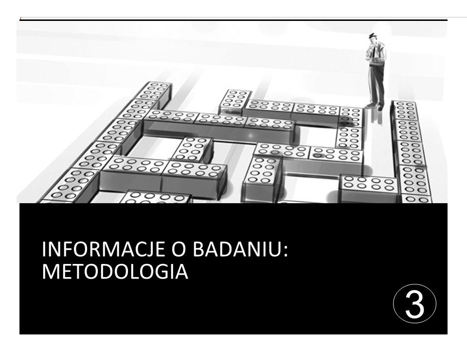 INFORMACJE O BADANIU: METODOLOGIA 3