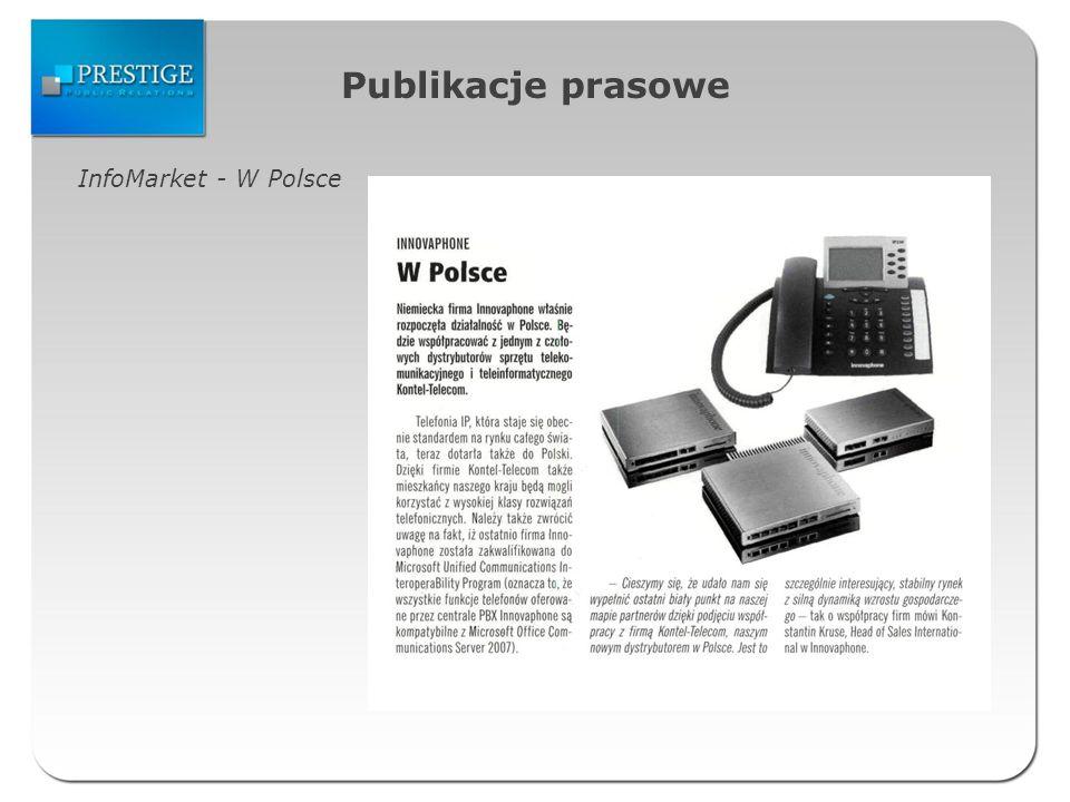 Publikacje prasowe InfoMarket - W Polsce