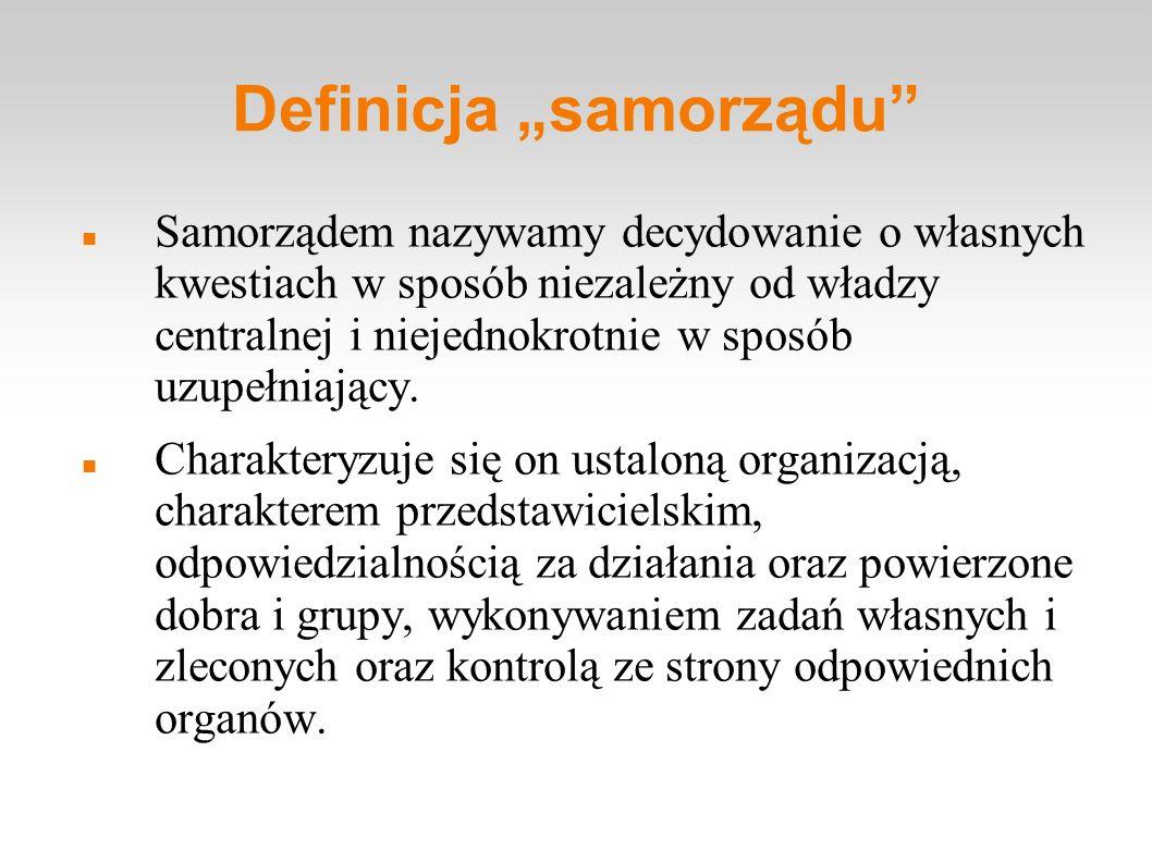 Główne formy samorządności młodzieżowej: Samorząd klasowy Samorząd uczniowski (tzw.