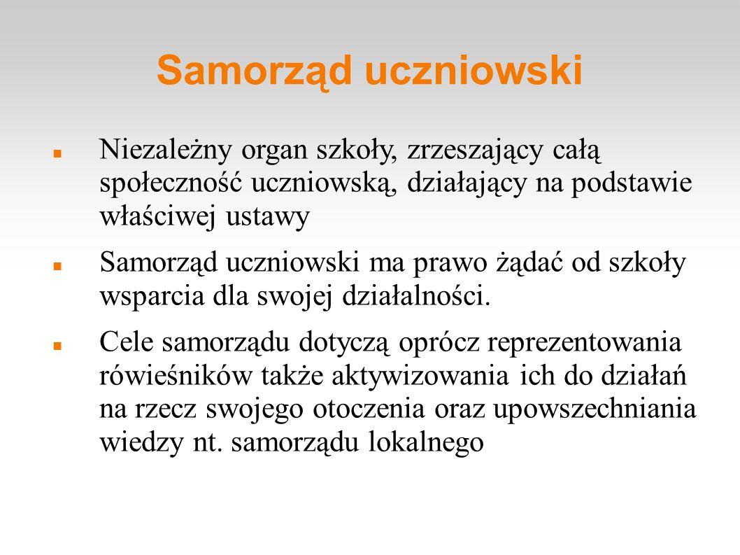 Samorząd Uczniowski I LO im.