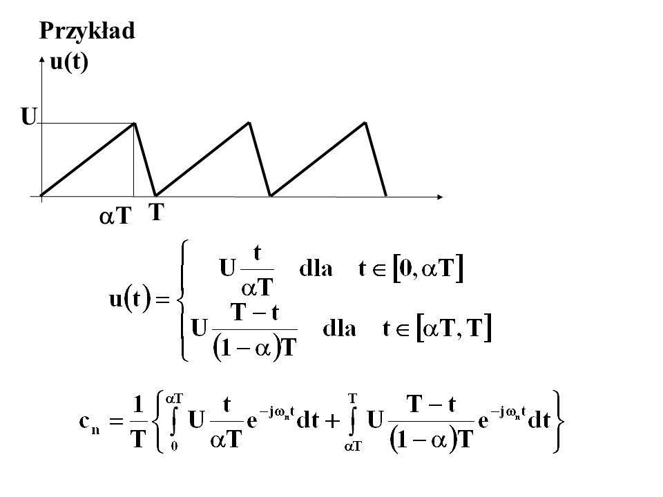 Przykład u(t) U T T