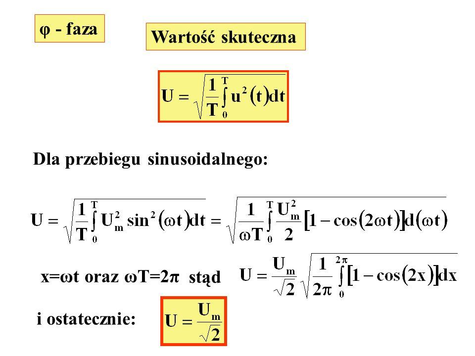 ekek R -j/ k C R obc -j/ k C I obck I Rk a b IkIk czyli k-ta harmoniczna napięcia na obciążeniu jest: k=1,3,5,...