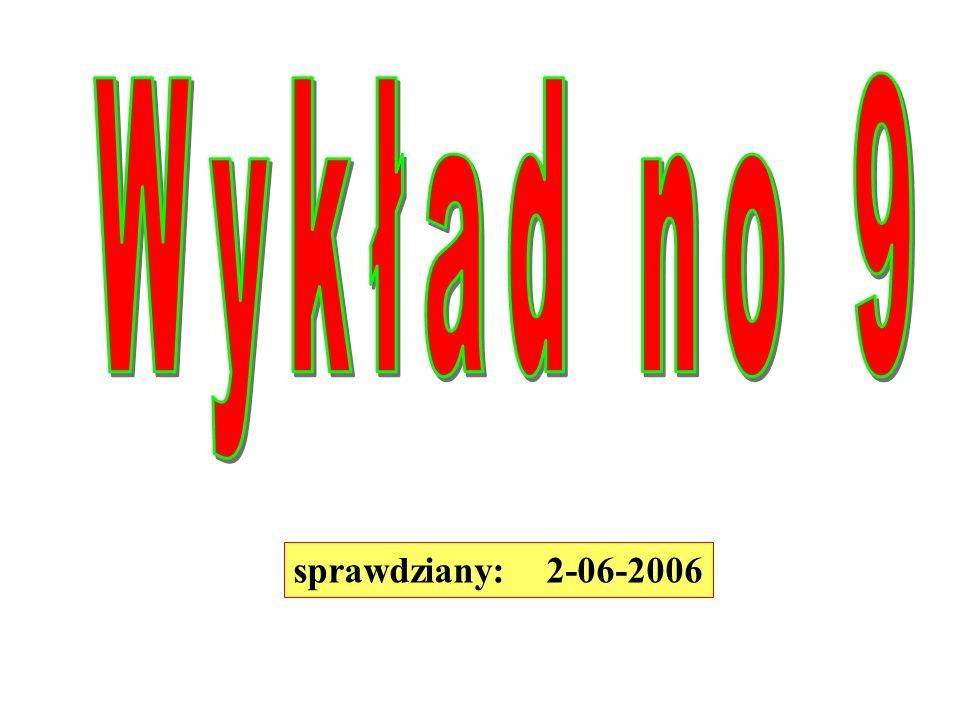 sprawdziany: 2-06-2006