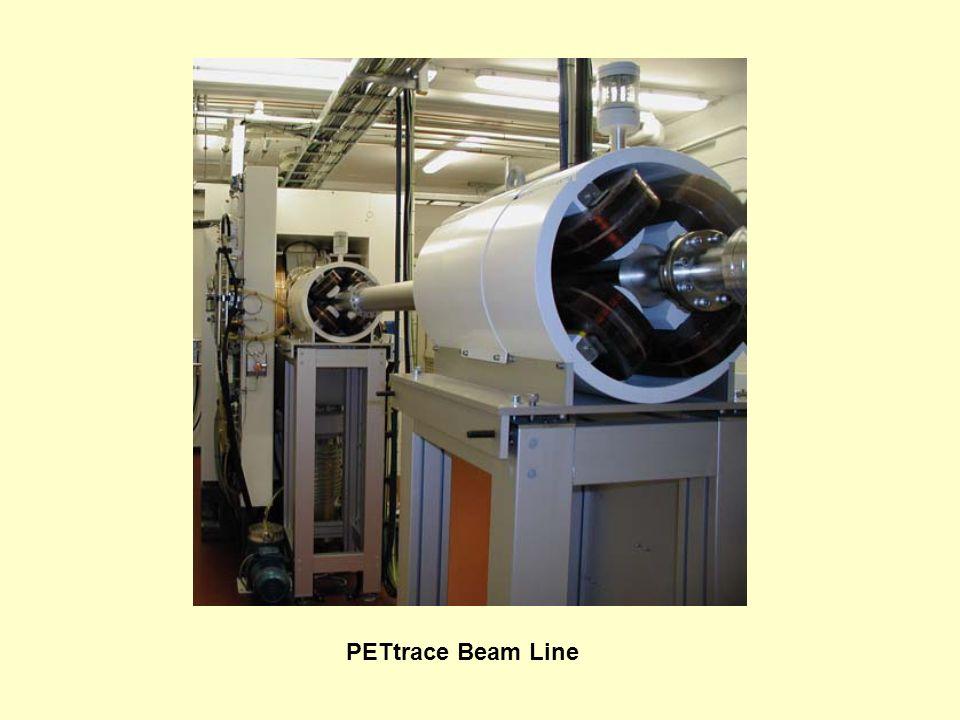 PETtrace Beam Line