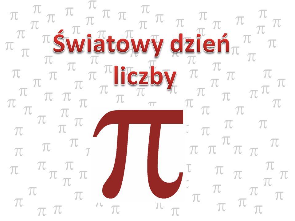 Matematyk ten w III wieku naszej ery podawał przybliżenie pi jako: