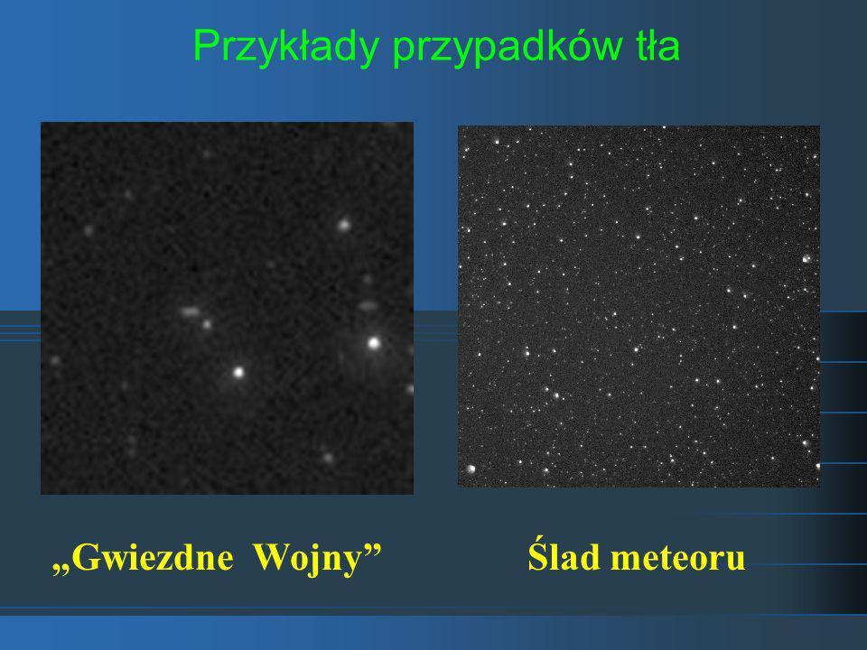 Przykłady przypadków tła Gwiezdne WojnyŚlad meteoru