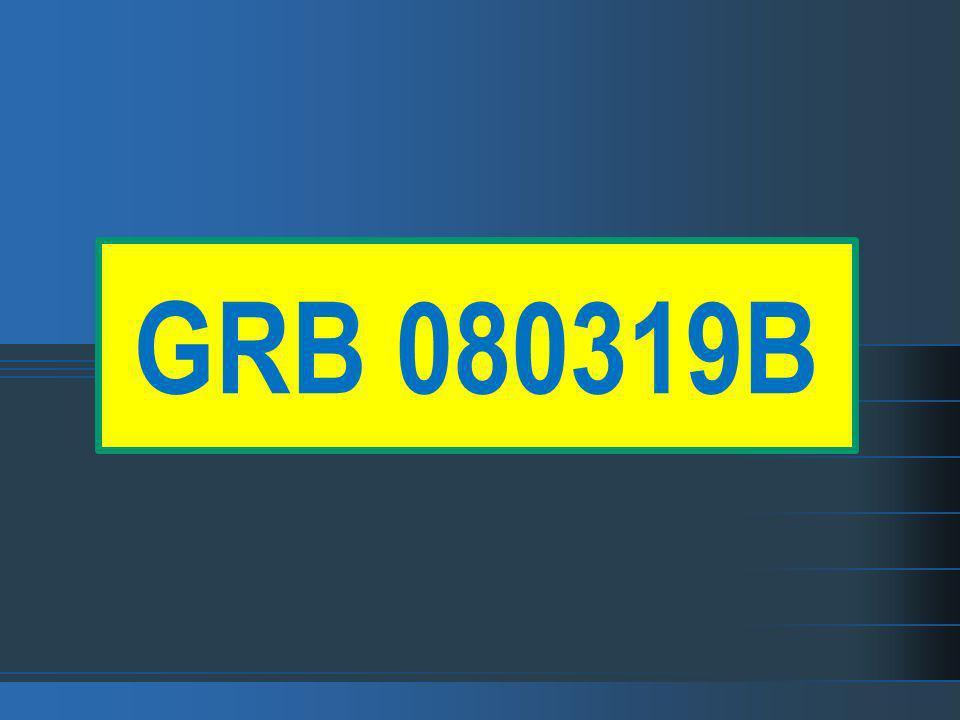 GRB 080319B