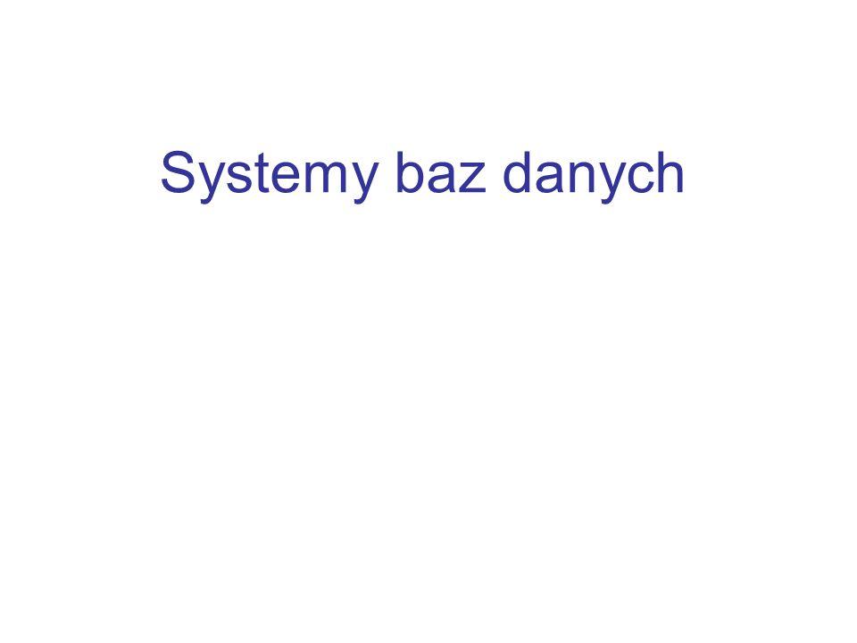 Systemy baz danych