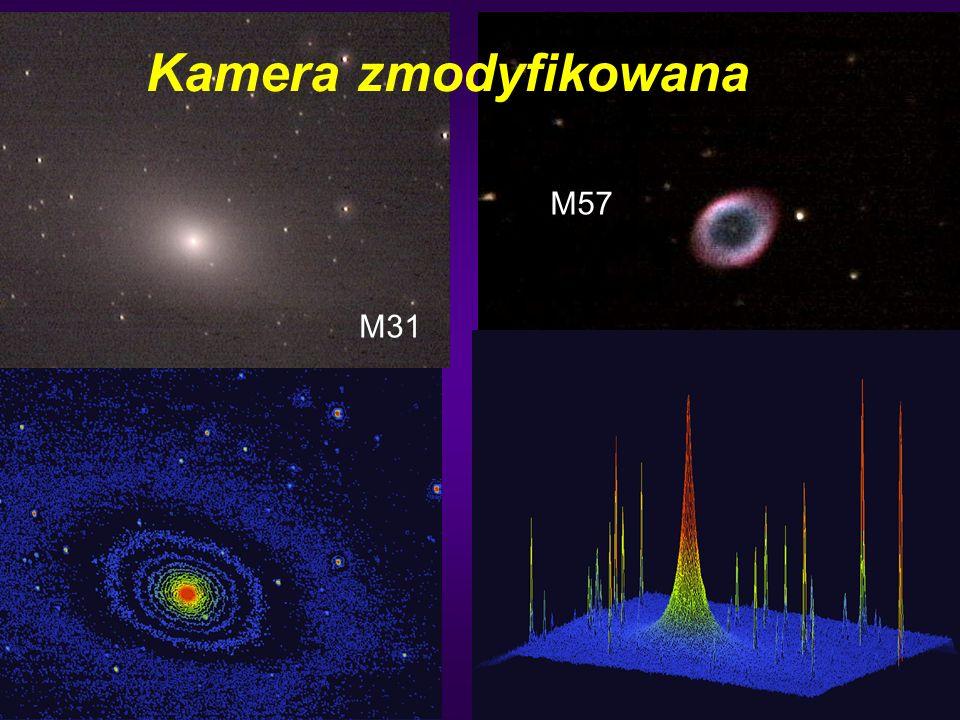 50 Kamera zmodyfikowana M31 M57