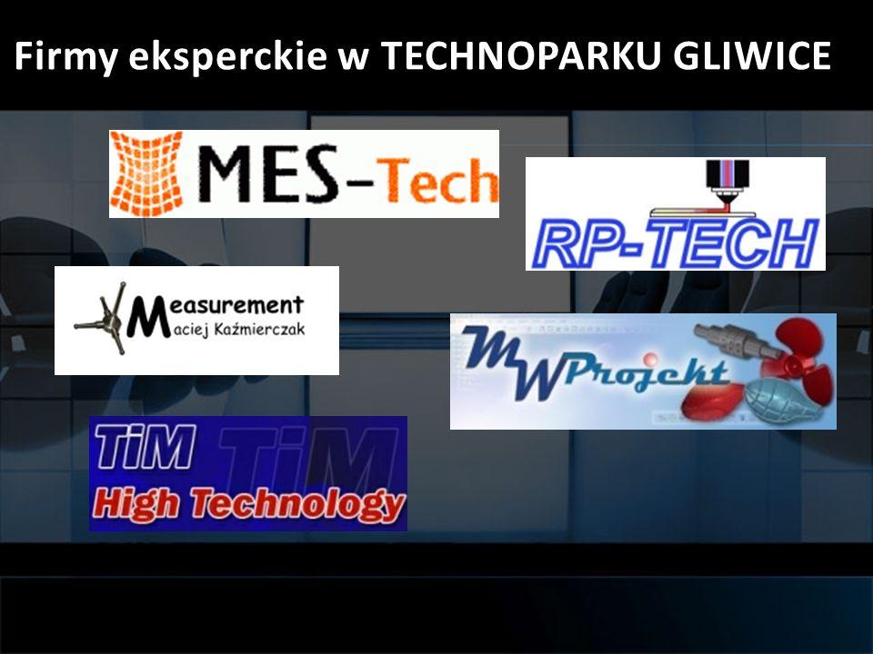 Firmy eksperckie w TECHNOPARKU GLIWICE