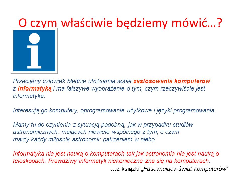 Problem wieloznaczności Wieloznaczność jest zjawiskiem wszechobecnym w języku.
