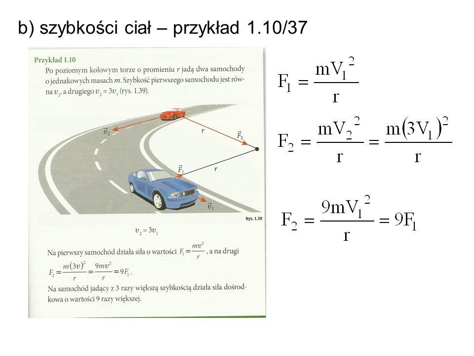 c) długości promienia okręgu – przykład 1.11/38