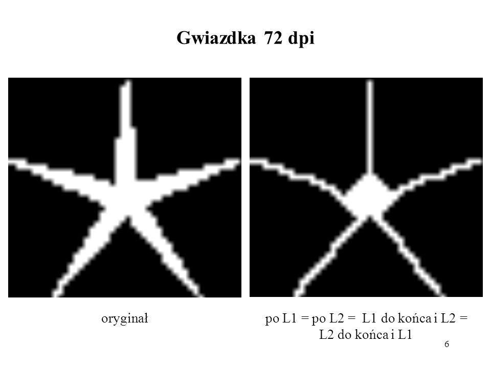 6 Gwiazdka 72 dpi po L1 = po L2 = L1 do końca i L2 = L2 do końca i L1 oryginał