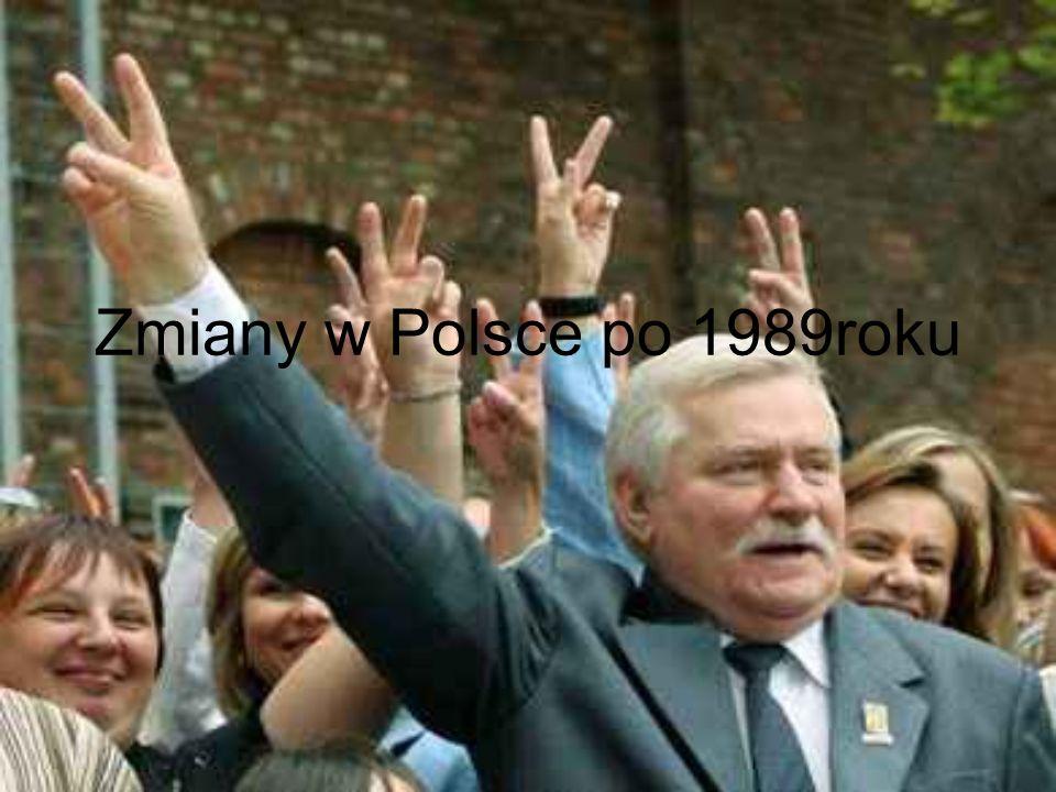 Charakterystyka historii Polski po 1989roku Nowy okres po odsunięciu komunizmu nazwano III Rzeczpospolitą W ciągu kilkunastu lat zmieniała się polska scena polityczna Utworzono wiele nowych partii politycznych (niektóre trwały jedynie kilka lat) Mimo wszystko każda partia odgrywała ważną rolę w polskiej polityce Powoli dochodziło do reform, których Polska bardzo potrzebowała