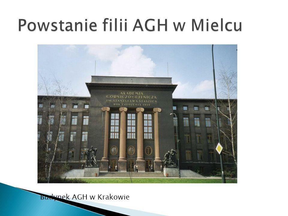 Budynek AGH w Krakowie