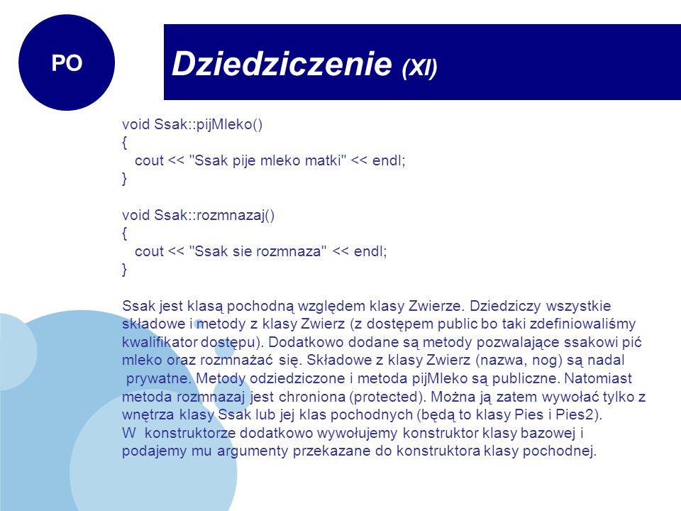 void Ssak::pijMleko() { cout <<